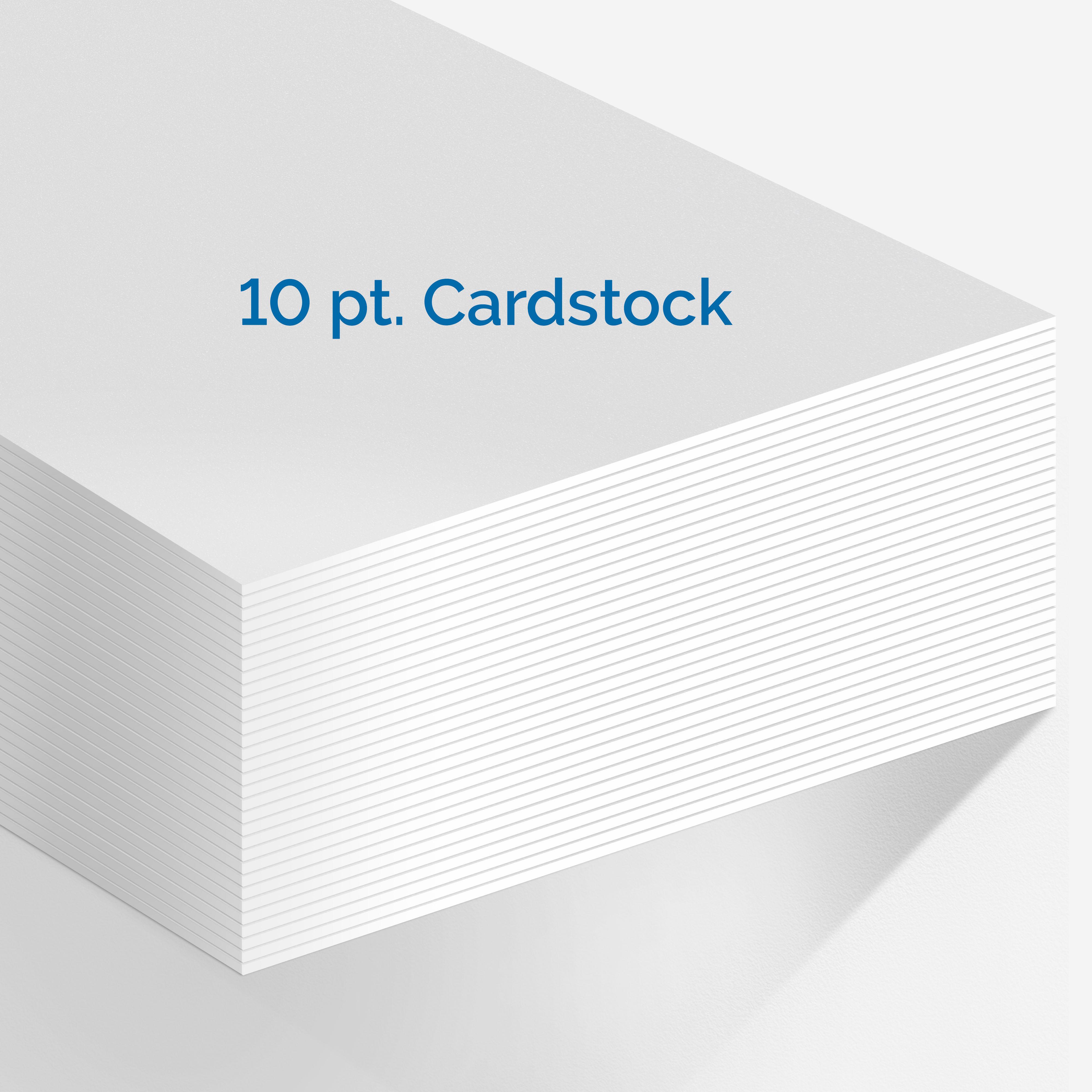 10 Pt Cardstock