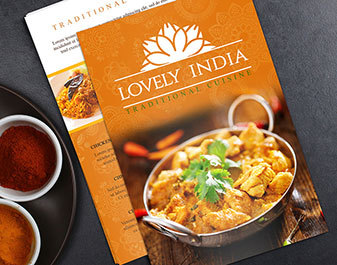 Indian Restaurant Flyers