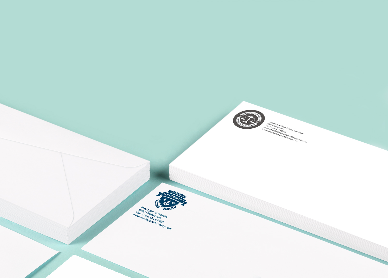 1 Color Envelope Printing Fast Turnaround PrintPlace