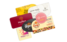 Printplace high quality printing excellent customer service die cut business cards reheart Image collections
