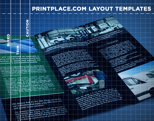 brochures templates free download printplace com