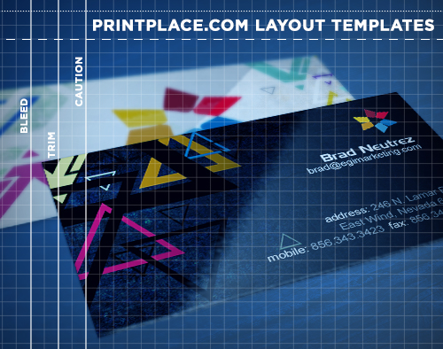 Business cards templates free download printplace business cards templates wajeb Gallery