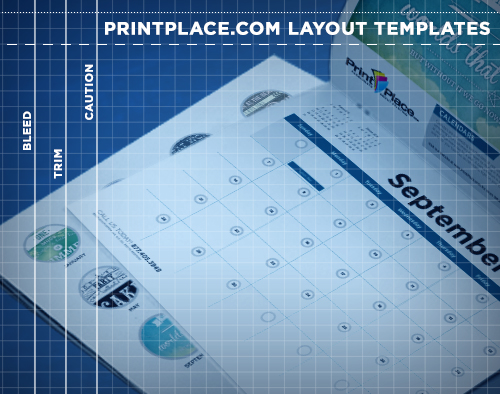 Calendars Templates Free Download Printplace Com