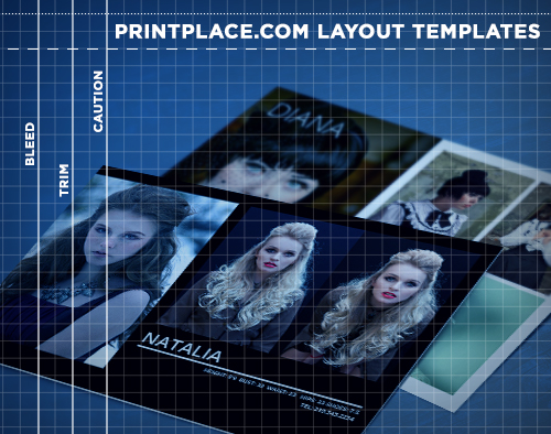 comp cards templates