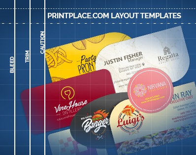 diecut business cards templates free download