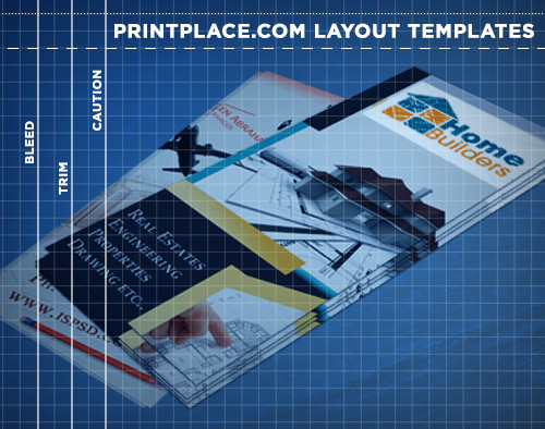 Rack Cards Templates Free Download PrintPlacecom - Free rack card template