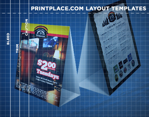 Table Tents Templates | Free Download | Printplace.Com