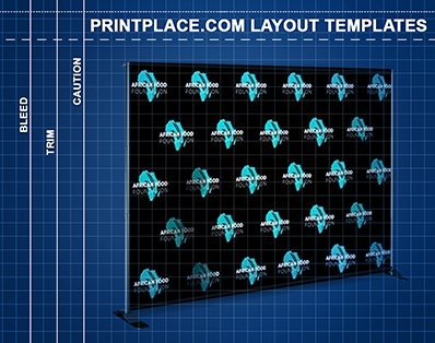 Step And Repeat Banners Stand Templates Free Download - Step and repeat banner template