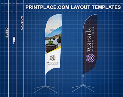 Feather Flags Layout-Templates