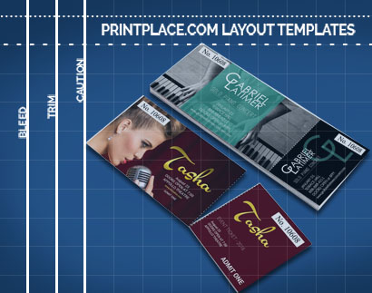 Tickets Layout Templates