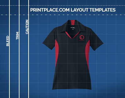 Ladies Side Blocked Micropique Sport-Wick Polo Printing