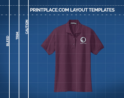 Ladies Silk Touch Sport Polo Shirt Printing