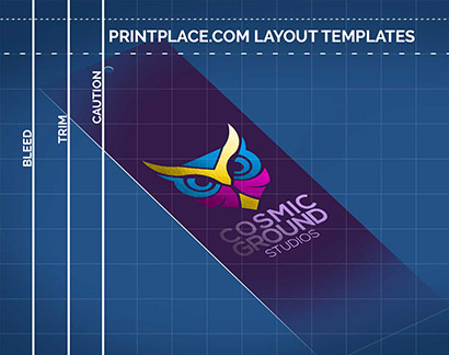 Foil Bookmarks Layout Templates