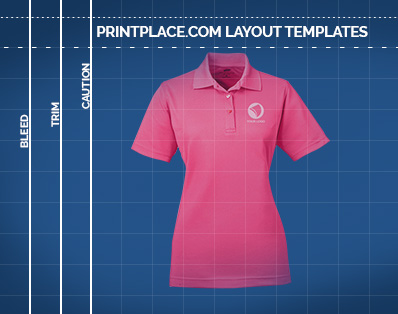 UltraClub Ladies Cool and Dry Mesh Pique Polo Printing