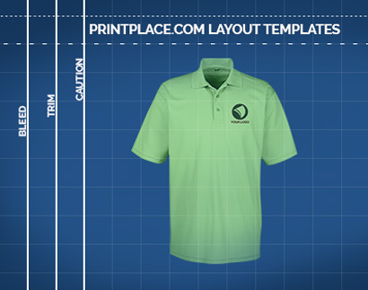 UltraClub Mens Cool and Dry Mesh Pique Polo Printing