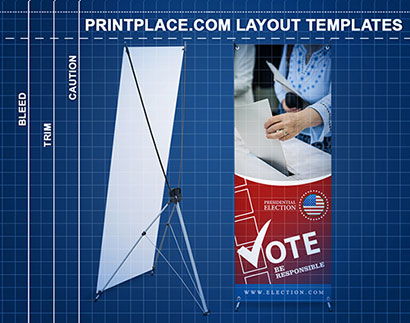 X Banner Stands Printing