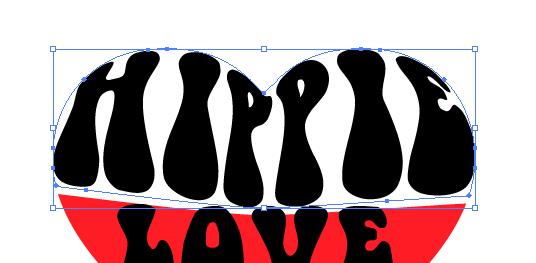 Warping Text to Fit into Shapes with Illustrator