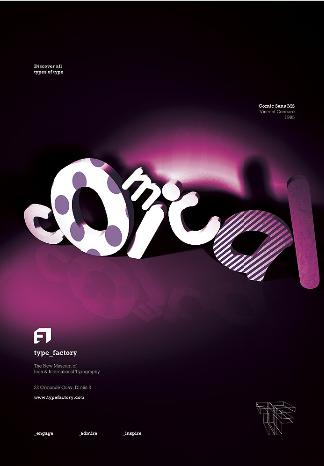 Typographic Poster Designs #9