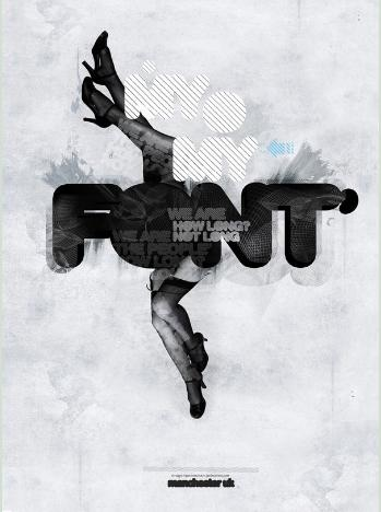Typographic Poster Designs #10