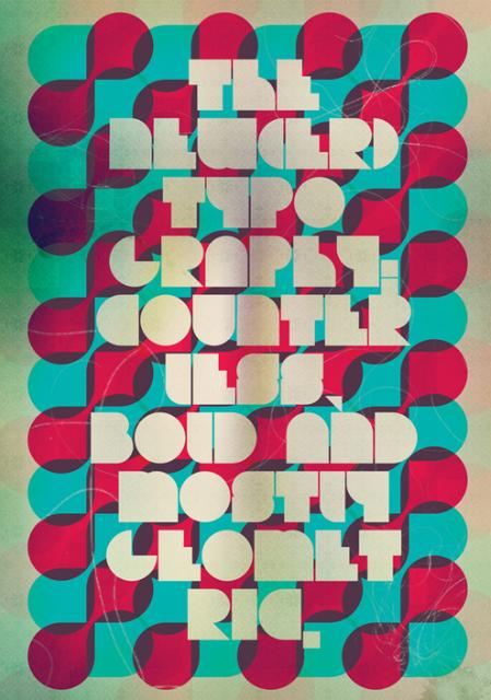 Typographic Poster Designs #23