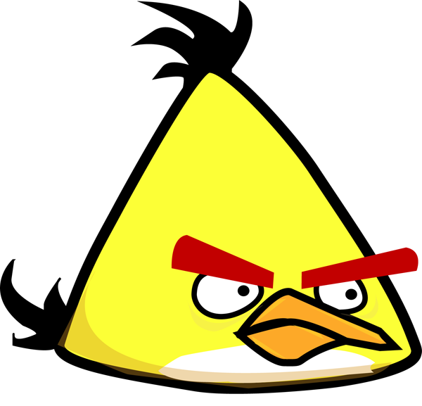 finished angry bird