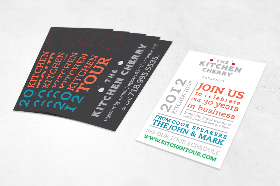 culinary event postcard design - Postcard Design Ideas