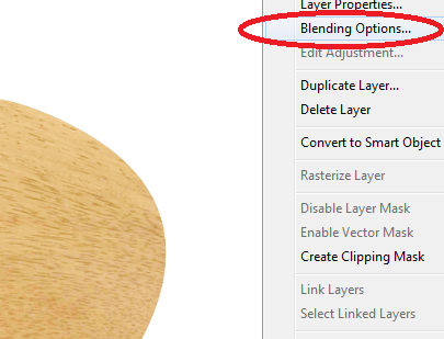 how to get layer palette in photoshop