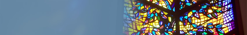 Church Rainbow Glass