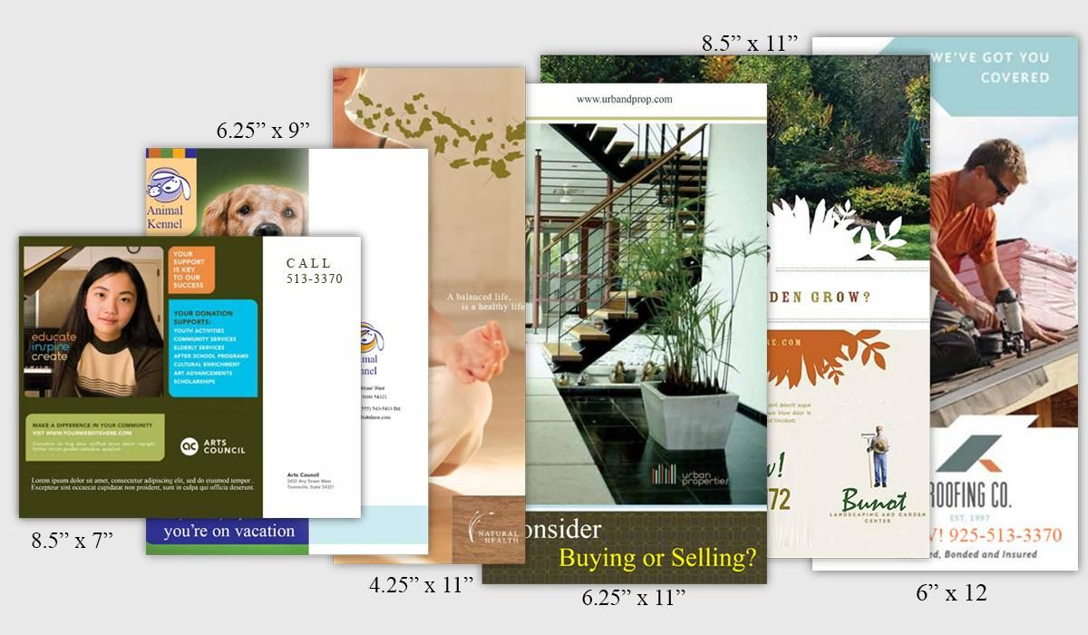 A Guide to Standard Postcard Sizes for Mailing | PrintPlace
