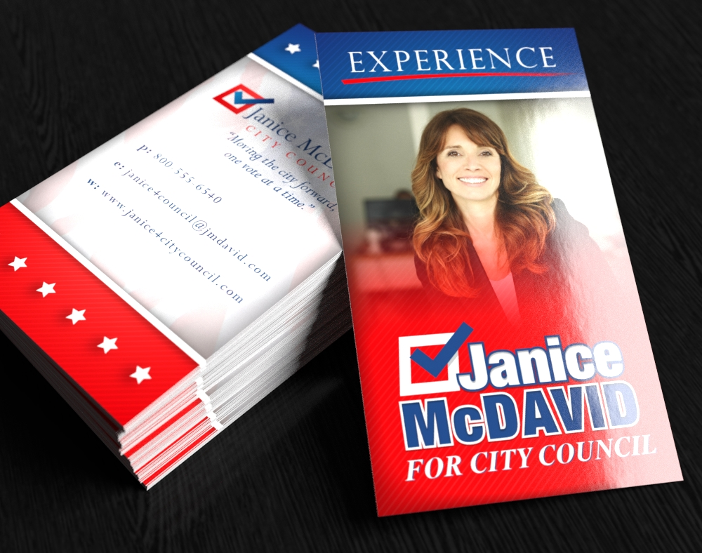 Political Business Cards - Fast Turnaround | PrintPlace