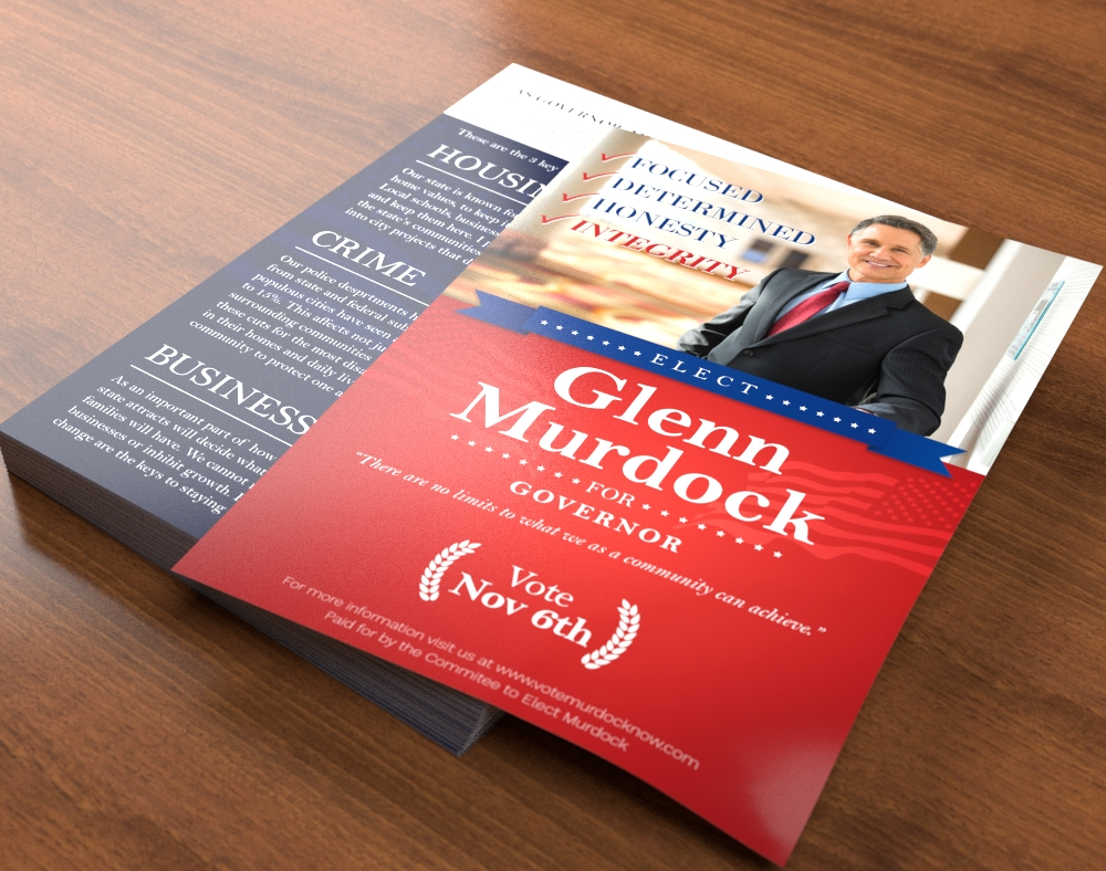 political campaign printing direct mail printplace com campaign flyer