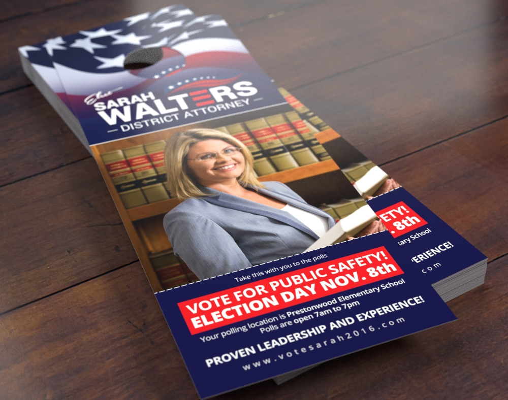 Political Door Hanger