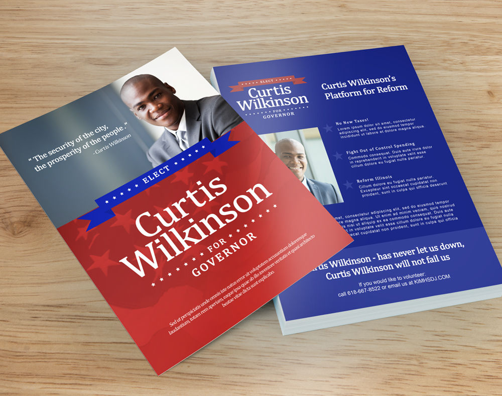 Campaign flyers custom campaign template flyer ringwood for Campaign literature templates