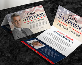 Political Folded Postcards