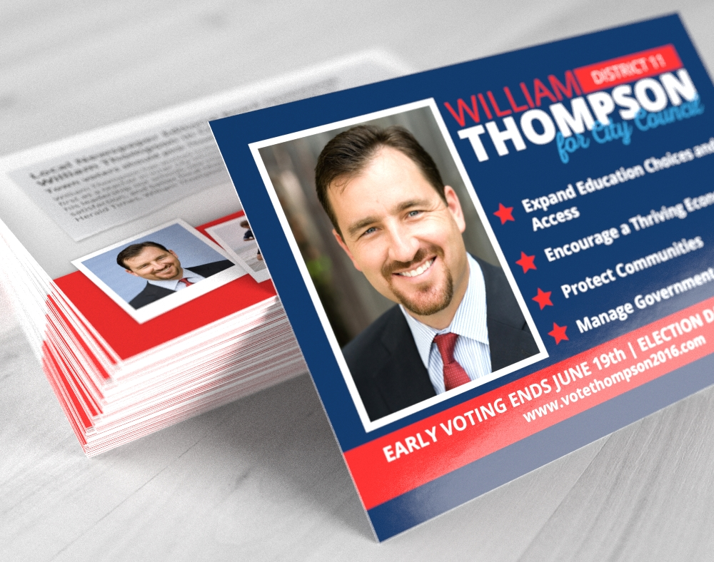 political campaign printing direct mail printplace com political push cards