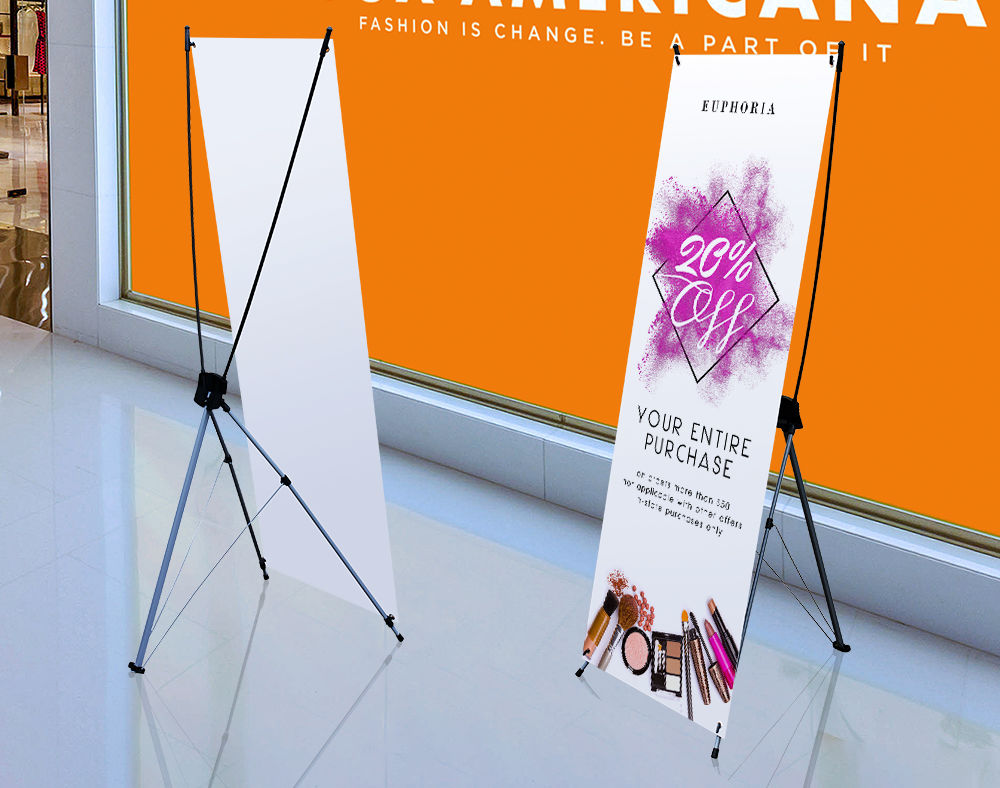 Trade Show X Banner Stands