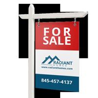 real estate sign printing