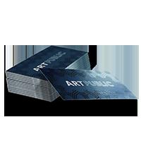 spot uv business cards printing