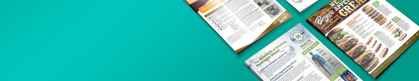 sales sheet printing