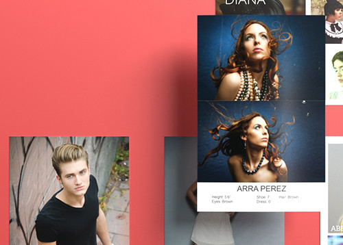 Print Model Composite Cards