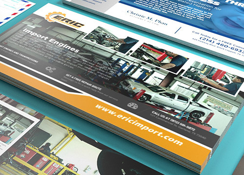 Postcard Printing and Mailing