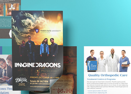 Flyer Printing Standard And Custom Sizes Printplace