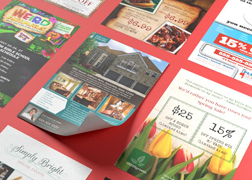 Print Full Color Custom Flyers