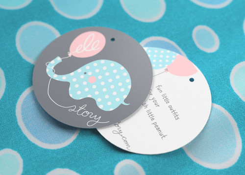 Print Personalized Hang Tags