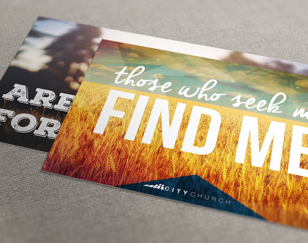 Postcard Printing for Churches - Mail or Handouts | PrintPlace
