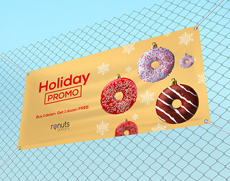 Print Holiday Banners