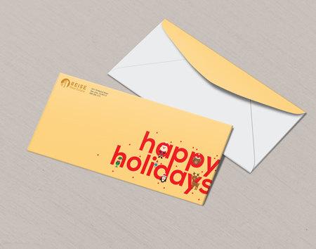 Print Holiday Envelopes