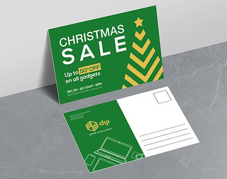 Print Holiday Postcards