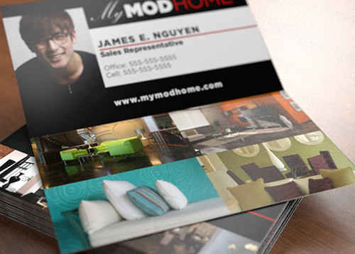 Full Color Folded Business Cards