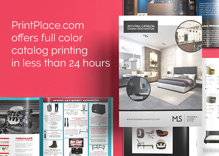 Furniture Product Catalog Printing